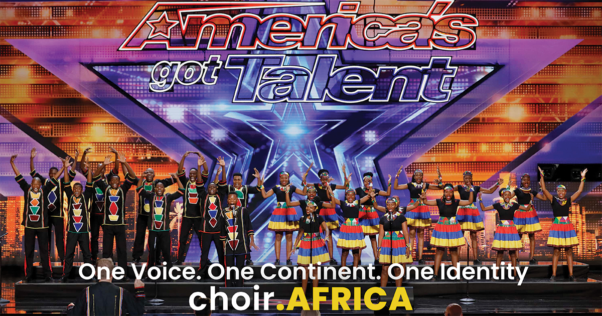 Choir.Africa Sends Message that Africa's Got Talent
