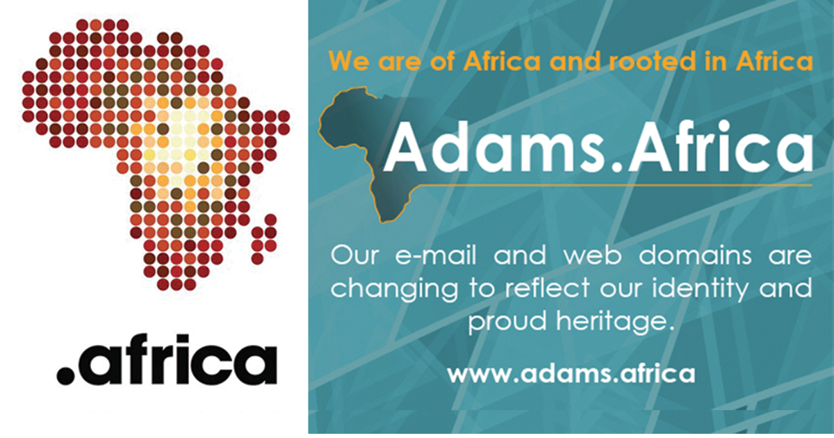 Legal Eagles Adams & Adams Adopt dotAfrica