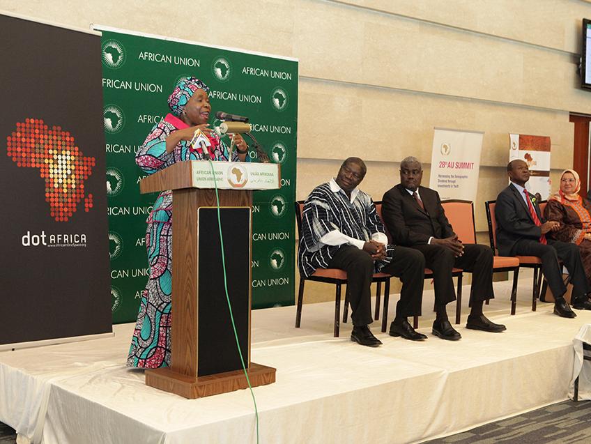 dotAfrica domain .africa african union