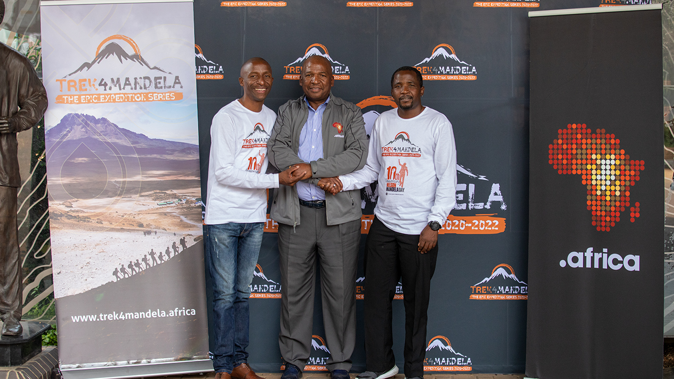 Trek4mandela And Dotafrica Agree To Collaborate
