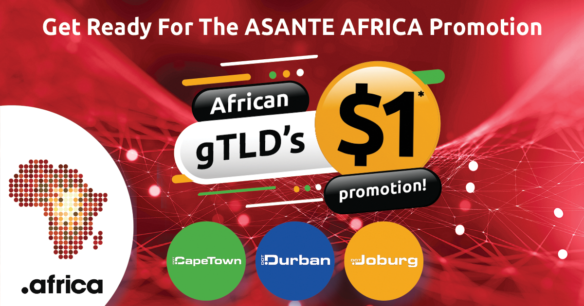 POPULAR AFRICAN DOMAIN NAME PROMOTION SET FOR 2020
